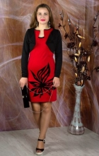 Комплект -двойка ( платье+жакет)